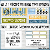 PRE-ORDER BUNDLE: CFM Family Bulletin Board Kit {MAY-DEC}-My Computer is My Canvas
