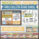 CFM Family Bulletin Board BUNDLE {MAY-DEC}