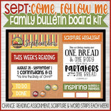 CFM Family Bulletin Board Kit BUNDLE {SEPT-DEC}