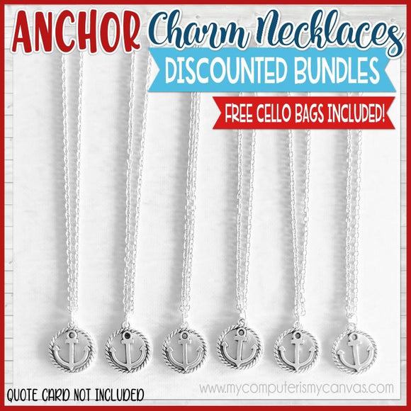 Charm Necklace Bundle {ANCHOR} SHIPPED