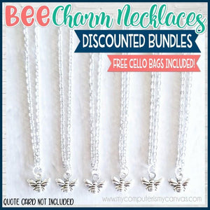 Charm Necklace Bundle {BEE} SHIPPED
