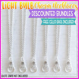 Charm Necklace Bundle {LIGHT BULB} SHIPPED