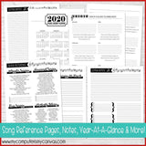 PRINT & SHIP: 2020 Music Leader Planner