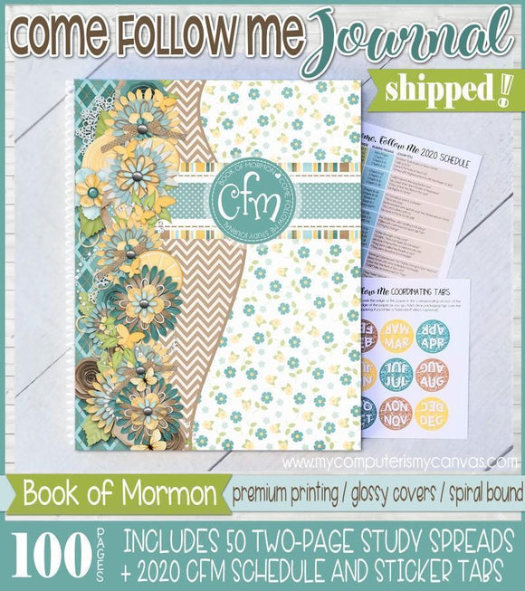 PRINT & SHIP: Come Follow Me JOURNAL {2020 Book of Mormon}