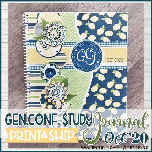 PRINT & SHIP: OCT 2020 General Conference JOURNAL {SHIPS 9/24}