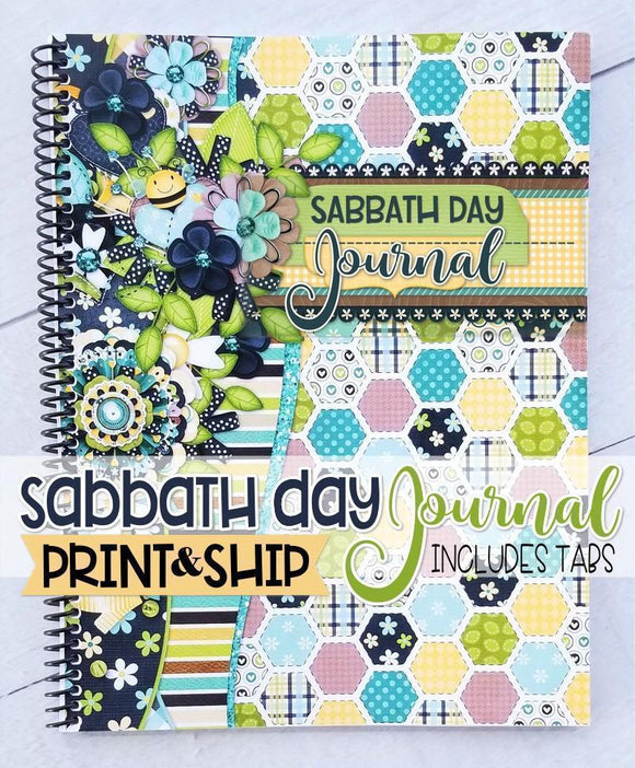 PRINT & SHIP: Sabbath Day JOURNAL