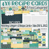 Recipe Collection NAVY Edition {Discounted Bundle}-My Computer is My Canvas