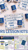 RS Lesson Kit {GBH Manual #16} PRINTABLE-My Computer is My Canvas
