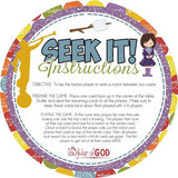 SEEK IT! {YW Edition} PRINTABLE Matching Game-My Computer is My Canvas