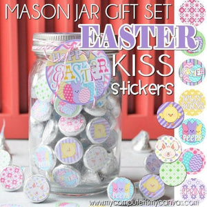Easter KISS PRINTABLES-My Computer is My Canvas