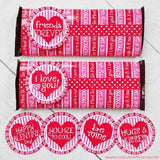 Valentine Candy Bar Wrapper PRINTABLE-My Computer is My Canvas