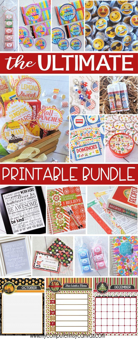 The ULTIMATE Printable Package {Discounted BUNDLE}-My Computer is My Canvas