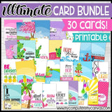 ULTIMATE Jewelry Card Bundle {30 Cards} PRINTABLE