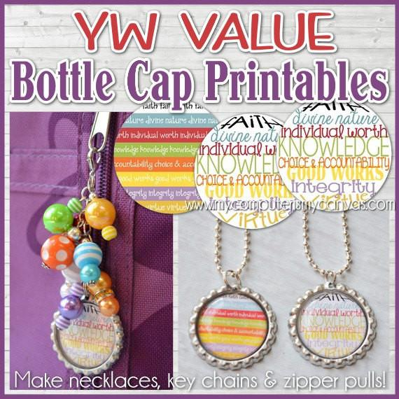 YW Value Bottle Cap PRINTABLE-My Computer is My Canvas