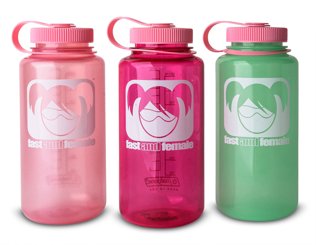 32oz Fast and Female Nalgene Bottle