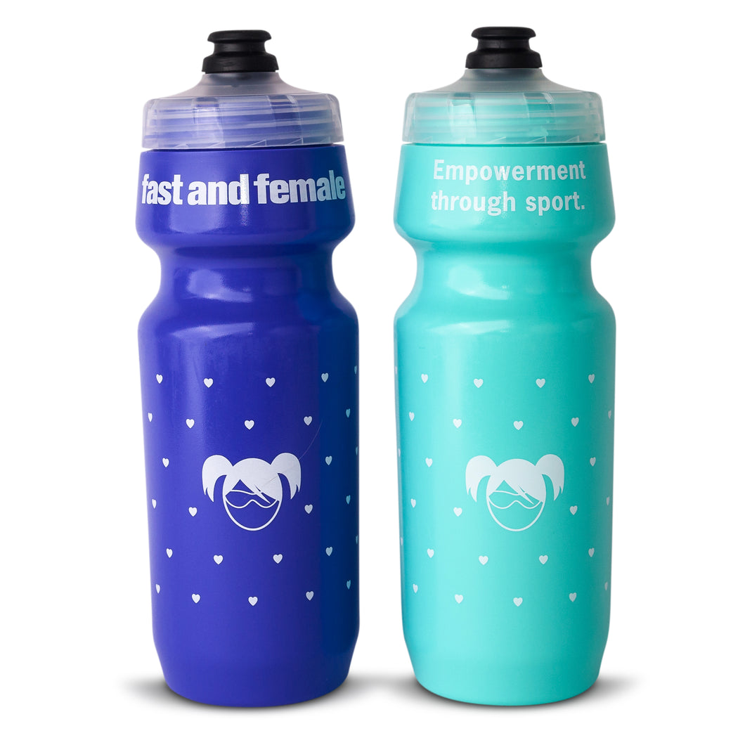 Fast and Female Bike Water Bottle
