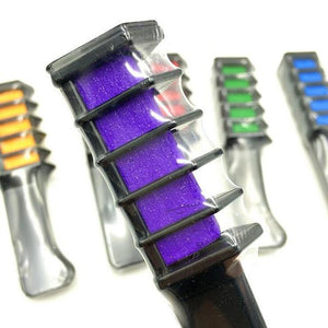 Colorful Hair Dye Comb Brush