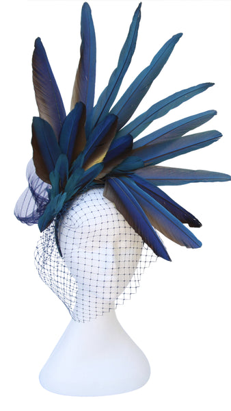 Hats by Felicity - Bolivian Blue