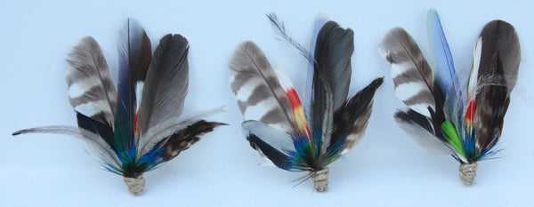 Hats by Felicity - Feather Lapel pins