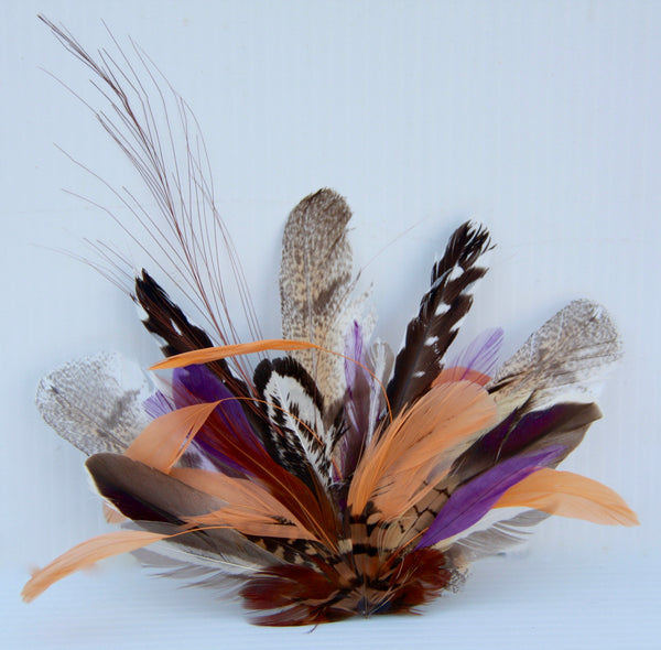 Hats by Felicity - Feather HAT-ON