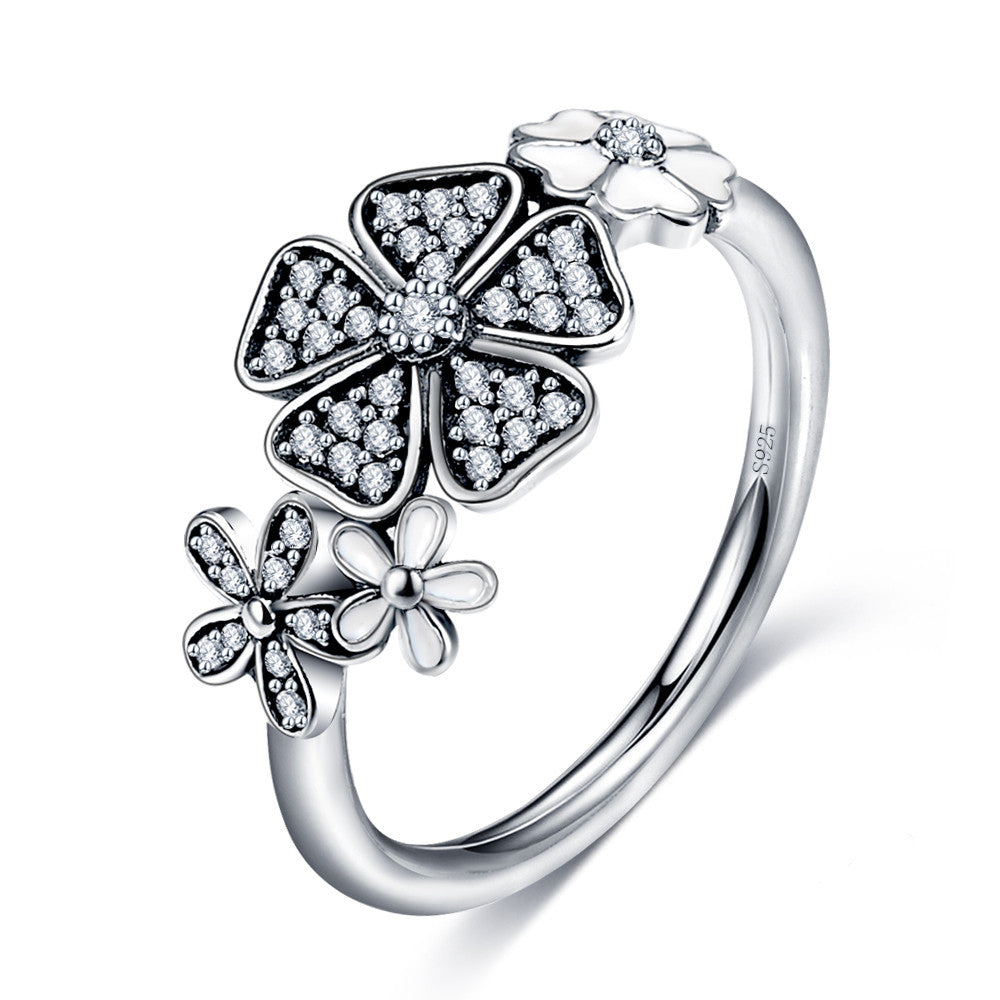 Daisy Bouquet, Sterling Silver