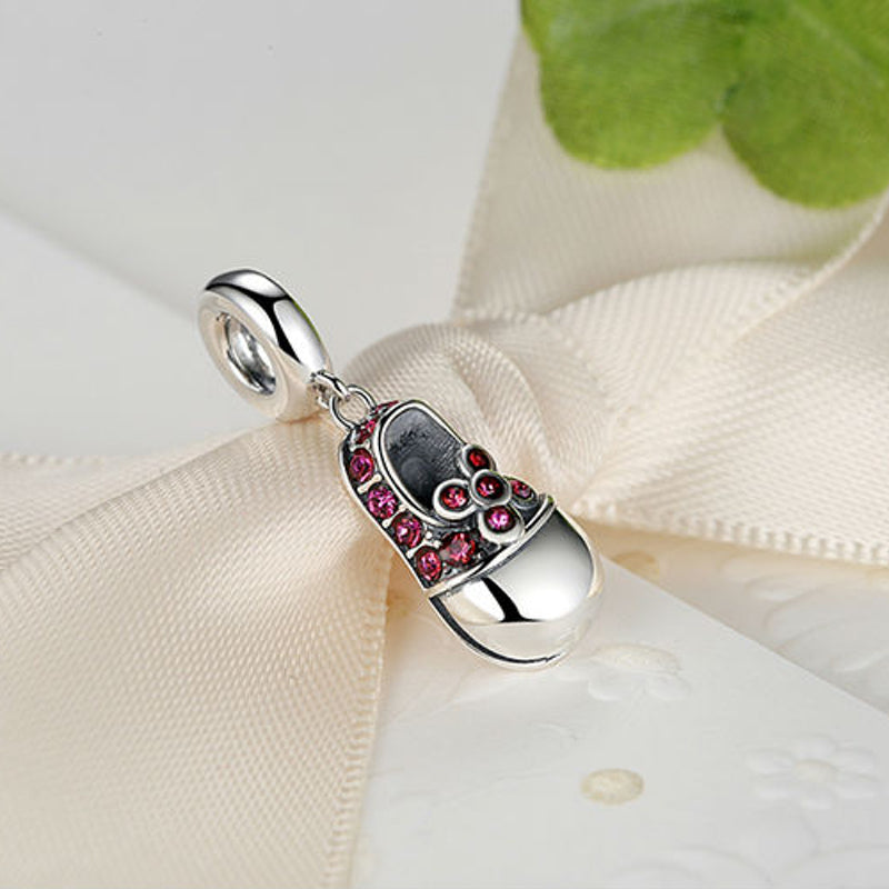 Ruby Slipper, Sterling SIlver