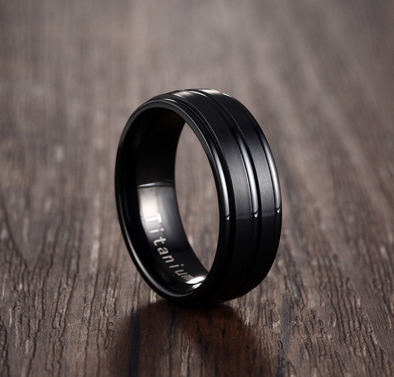 Black Titanium Carbide Band