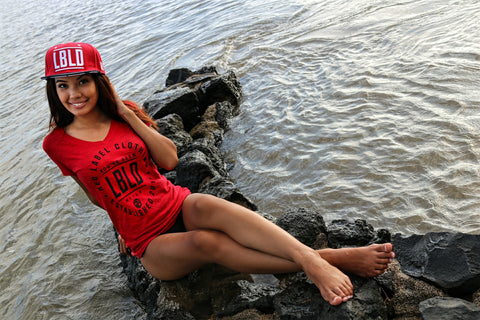 LBLD Womens Tee - Red Label Clothing Inc