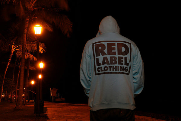 Box Logo Hoodie - Unisex - Red Label Clothing Inc