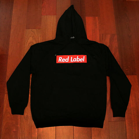 Red Box Label Hoodie - Unisex