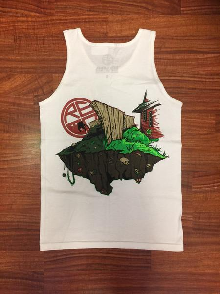 Grass Isn't Greener Men's Tank - Red Label Clothing Inc