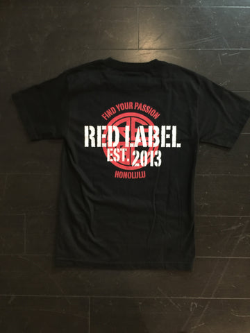 Find Your Passion Mens Tee - Red Label Clothing Inc