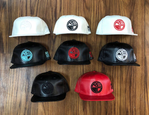 Carbon Fiber Snapback - Red Label Clothing Inc