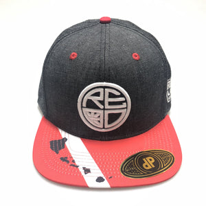 Denim Dive Flag Snapback