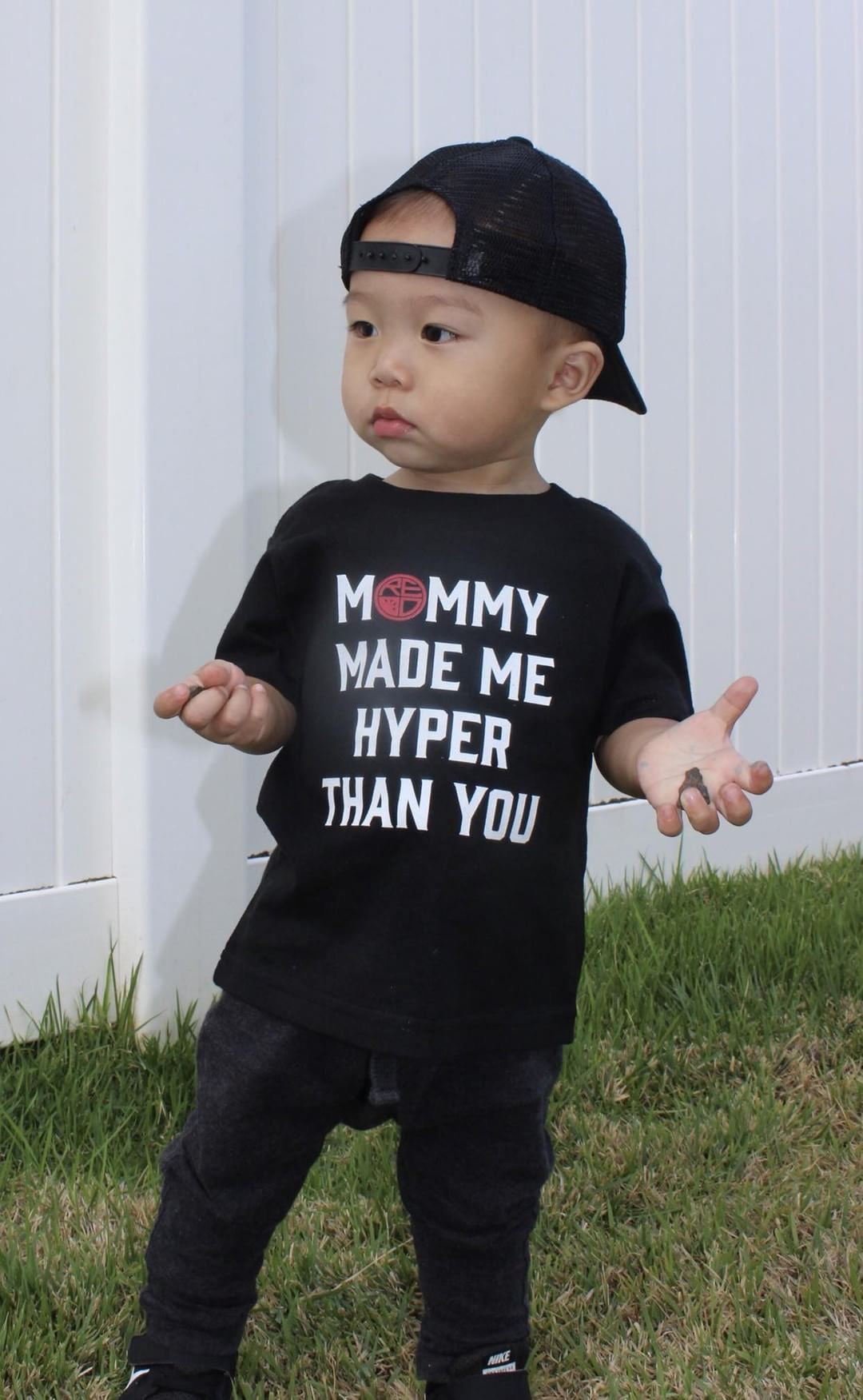 """Hyper Than You"" Toddler T-Shirt - Red Label Clothing Inc"