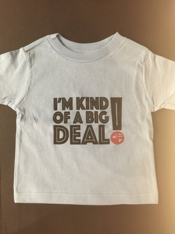 """Big Deal"" Toddler T-Shirt - Red Label Clothing Inc"