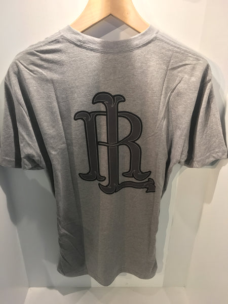 RL Logo Refined Men's T-Shirt HEATHER/GREY