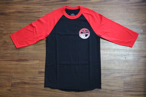 Paint the Town Red Men's Raglan