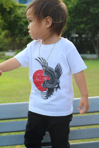 Tattoo Owl Toddler T-Shirt