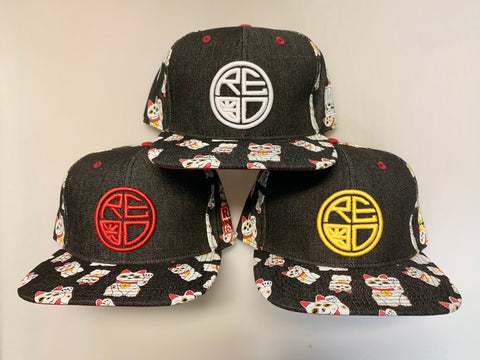 Dark Denim Neko Snapback