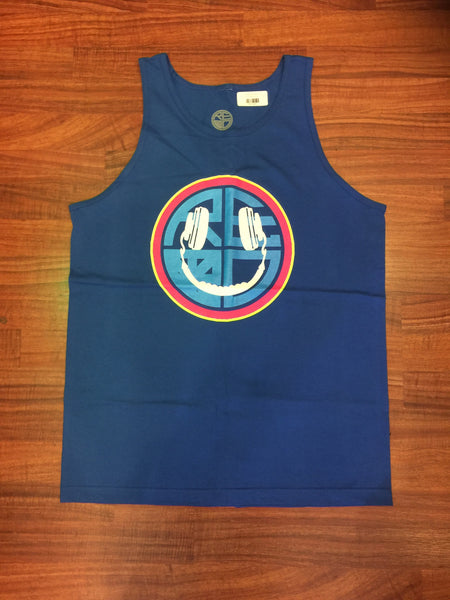 EDC Happy Face Mens Tank - Red Label Clothing Inc