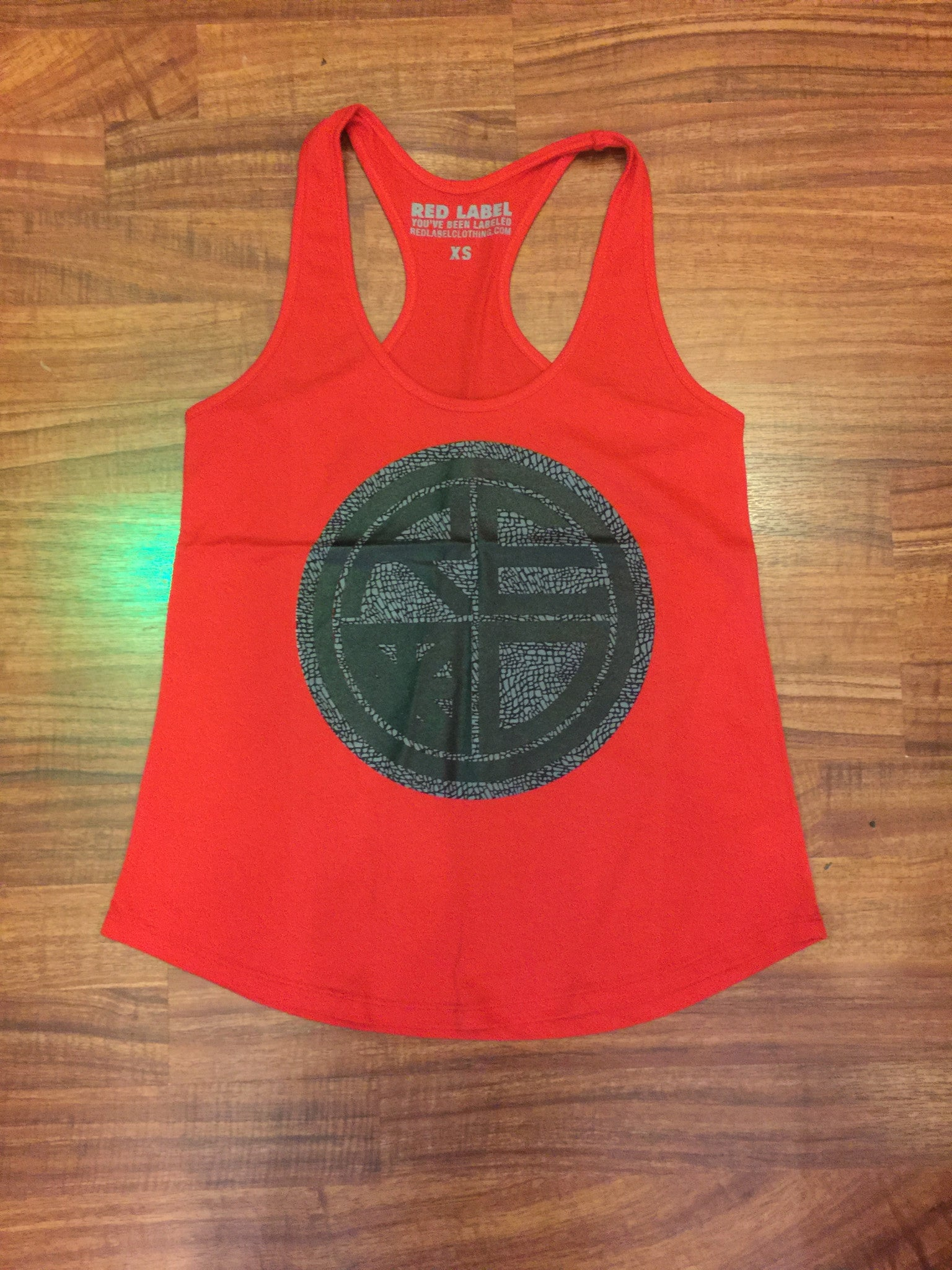 Jordan Cement Womens Racerback - Red Label Clothing Inc