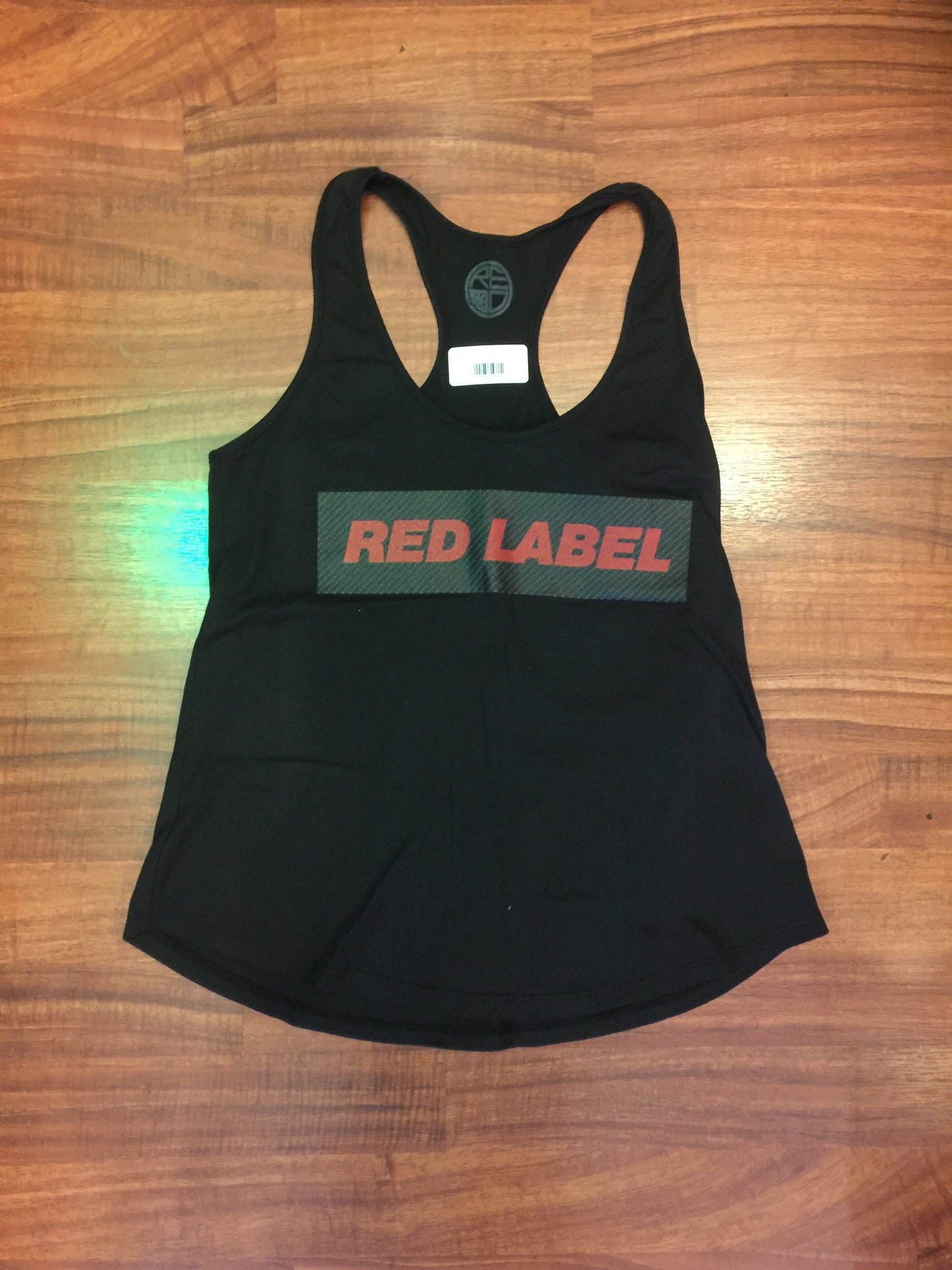 Carbon Fiber Womens Racerback - Red Label Clothing Inc