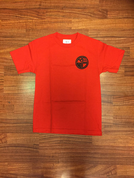 Classic Logo Mens Tee - Red & Black - Red Label Clothing Inc