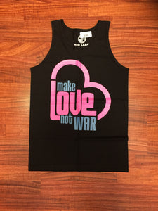 Make Love Not War Mens Tank - Red Label Clothing Inc