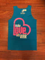 Make Love Not War Mens Tank