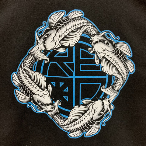 Blue Koi Circle T-Shirt