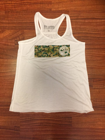 Camo Womens Tank - Red Label Clothing Inc