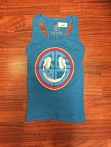 EDC Happy Face Womens Racerback