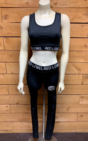 Red Label Sports Bra and Legging Set